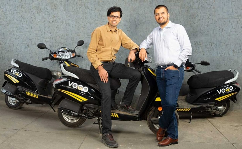 Bhavish Aggarwal, Co-founder & CEO with Anand Ayyadurai, Founder & CEO, Vogo