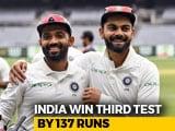 Video : India Register 137-Run Win Against Australia In Melbourne