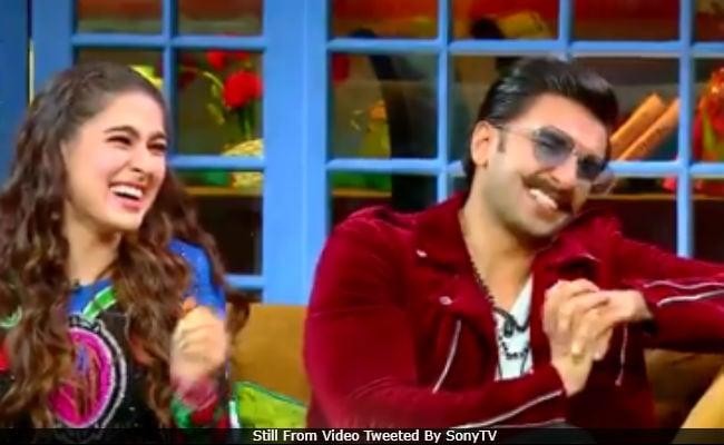 The Kapil Sharma Show Teaser: Simmba Stars Ranveer Singh And Sara