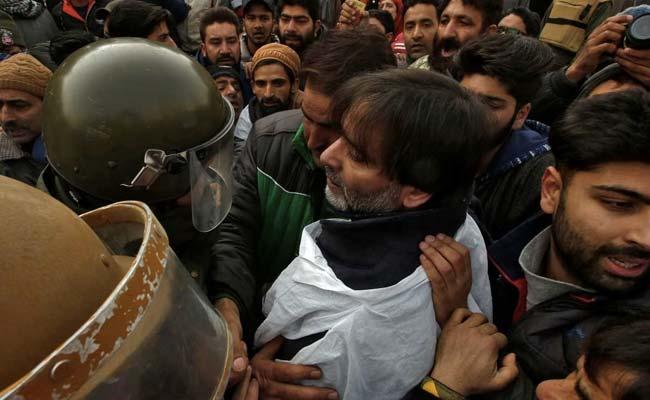 Mirwaiz Umar Farooq, Yasin Malik Arrested For Separatist March Call