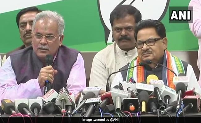 Bhupesh Baghel Is New Chhattisgarh Chief Minister, Tweets Congress: Updates
