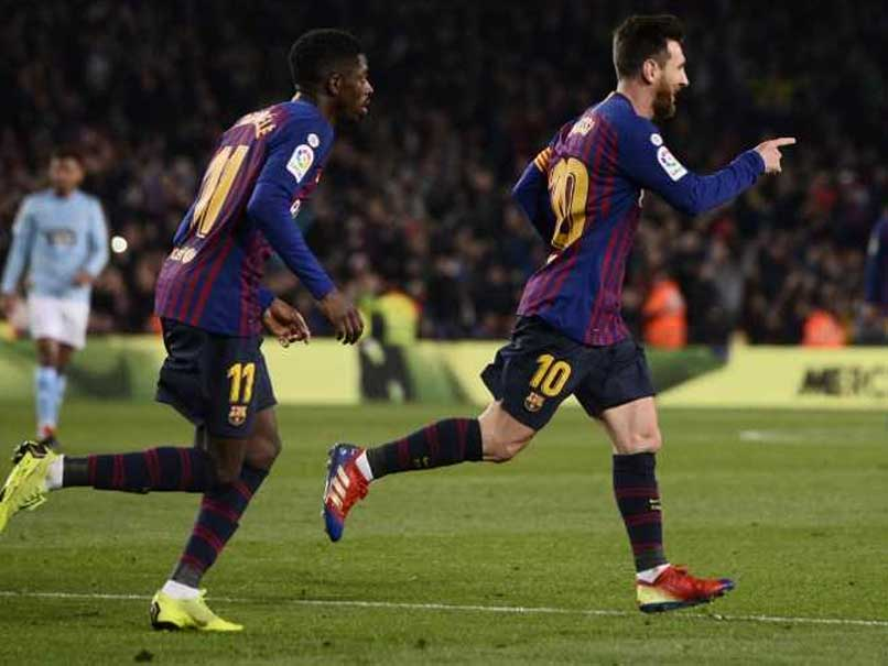 Lionel Messi, Ousmane Dembele Keep Barcelona Three Points Clear In La Liga