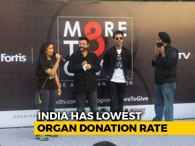 Video : 12,000 People Pledge Support For Organ Donation At More To Give Walkathon