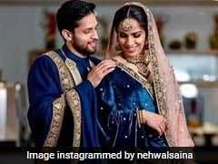 "Watch: Saina Nehwal Shares Her ""Wedding Reception Memories"" With Kashyap Parupalli"