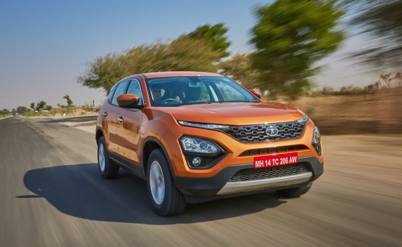 Tata Harrier owners can get sunroof as an accessory for Rs. 95,500 at any Tata authorised dealer
