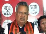 Video : Raman Singh Bows Out As Chhattisgarh Chief Minister