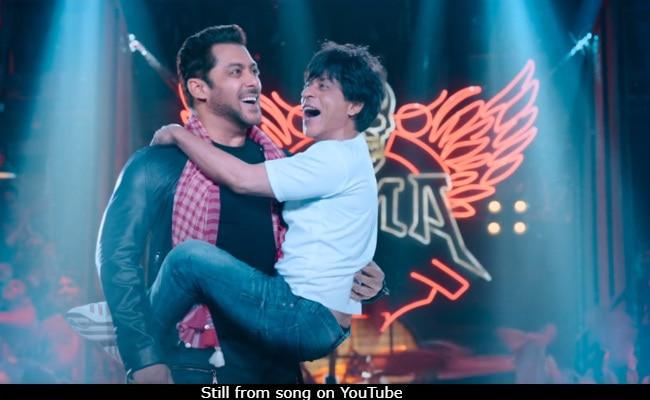 Zero Song  Issaqbaazi: In Shah Rukh Khan Vs Salman Khan, Their Bromance Is The Winner