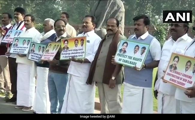 Rajya Sabha Adjourned Amid Protests By DMK, AIADMK And Congress
