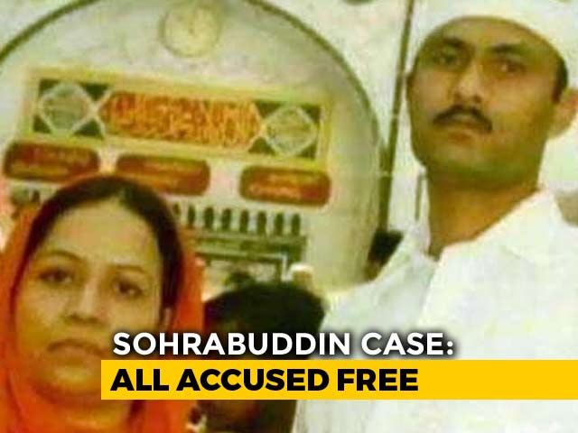 Video : Sohrabuddin Encounter Not Fake, Says Court, All Accused Cleared