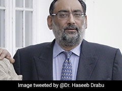 Haseeb Drabu Resigns From Mehbooba Mufti's Peoples Democratic Party