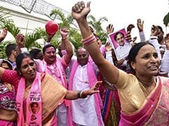 Telangana Results 2018: TRS 'Party In Pink' Sweeps Polls, KCR Dedicates Win To People