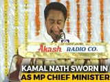 Video : Kamal Nath Takes Oath As Chief Minister Of Madhya Pradesh