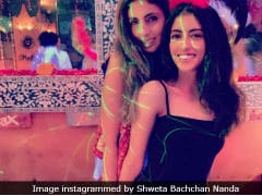Shweta Bachchan Nanda And Navya Naveli Put On Their Dance Shoes At Their New Year's Vacation