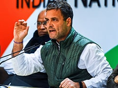 """They Have Left Stage"": Rahul Gandhi On Vibrant Gujarat Summit Sponsors"