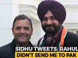 "Video : ""Rahul <i>Ji</i> Never Asked Me To Go To Pak"": Navjot Sidhu After ""Captain"" Dig"