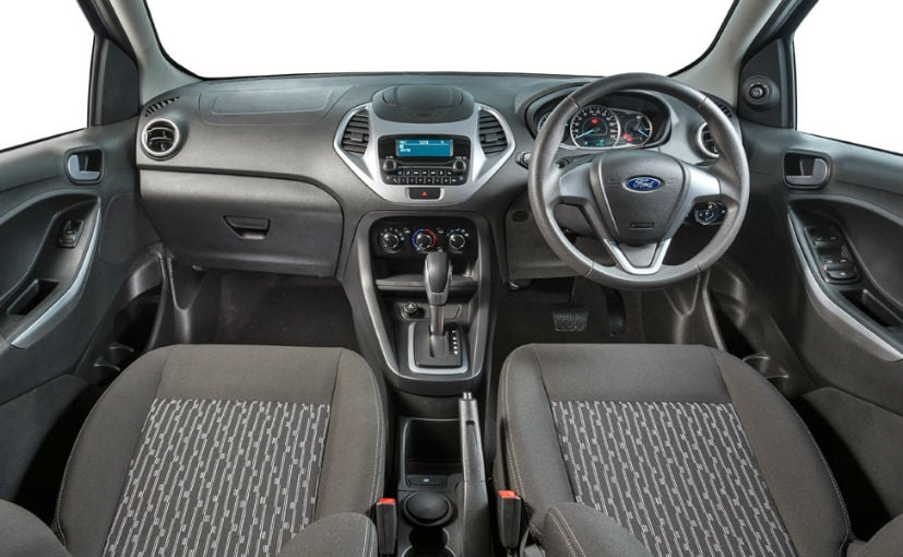 2018 ford figo sedan facelift interior
