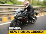 2018 Honda CBR650F Review