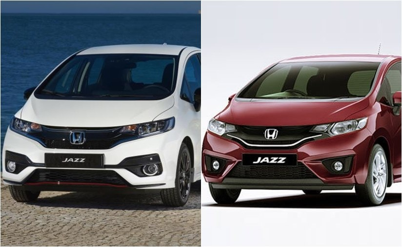 2018 honda jazz and old jazz
