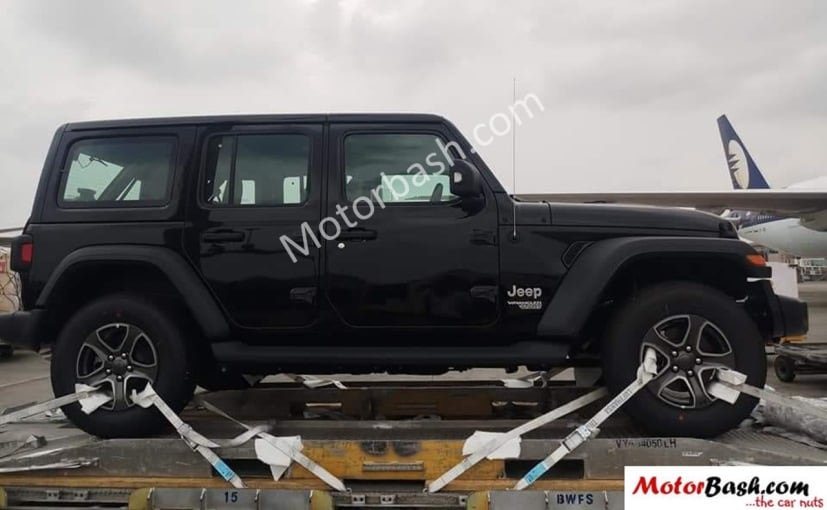 2018 jeep wrangler spied in india