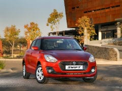 Made-In-India Maruti Suzuki Swift Launched In South Africa
