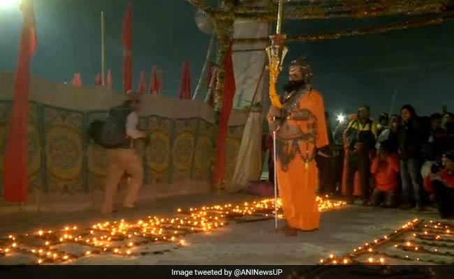 Kumbh Mela 2019: अयोध्या में बने राम मंदिर इसलिए प्रयागराज में रोज जल रहे हैं 33 हजार दीए