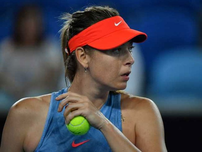 Australian Open 2019: Early To Bed For Sleepy Maria Sharapova