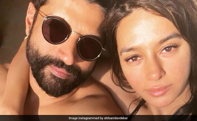 Amidst Farhan Akhtar And Shibani Dandekars Wedding Reports Such A Cute Birthday Wish