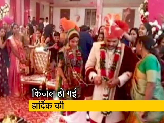 Videos : शादी के बंधन में बंधे पाटीदार नेता हार्दिक पटेल