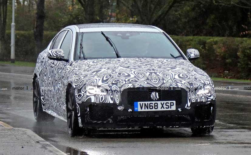 The new Jaguar XE facelift will get a mild update.