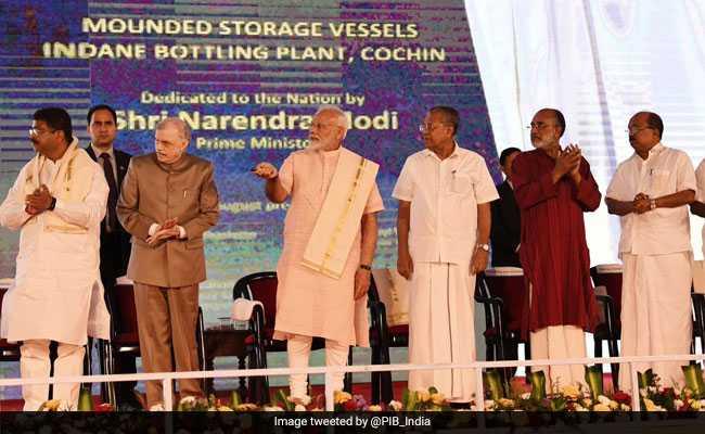 PM Modi Unveils Refinery Complex Worth Over Rs 16,000 Crore In Kerala