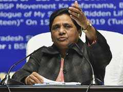Huge Controversy Over BJP Lawmaker's Offensive Comments Against Mayawati