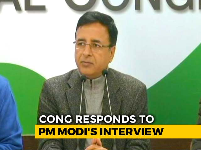 Video : 10 Questions PM Modi Did Not Answer In Interview, According To Congress