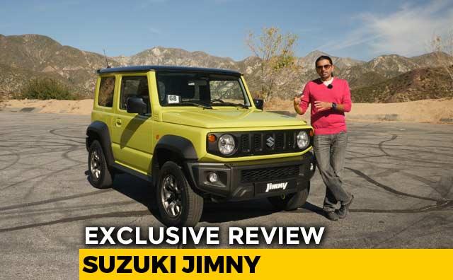 Exclusive: Suzuki Jimny 4x4 Review