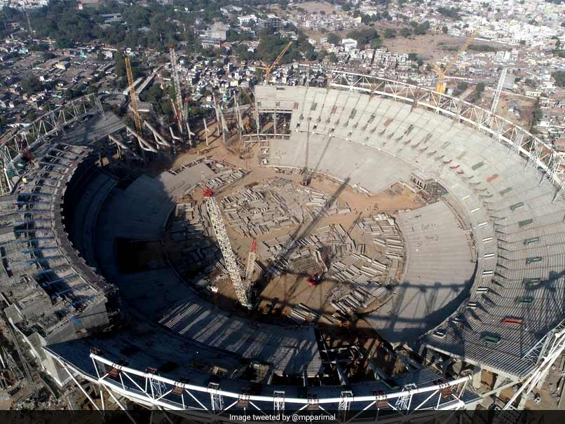 See Pics: World's Largest Cricket Stadium Under Construction In Ahmedabad