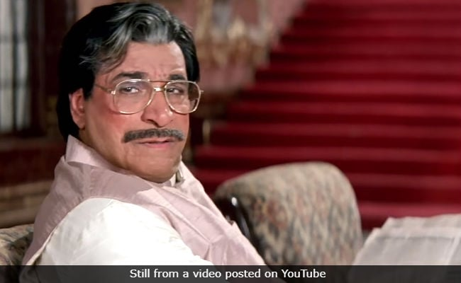 'Kader Khan Was The Backbone Of My Cinema,' Says David Dhawan