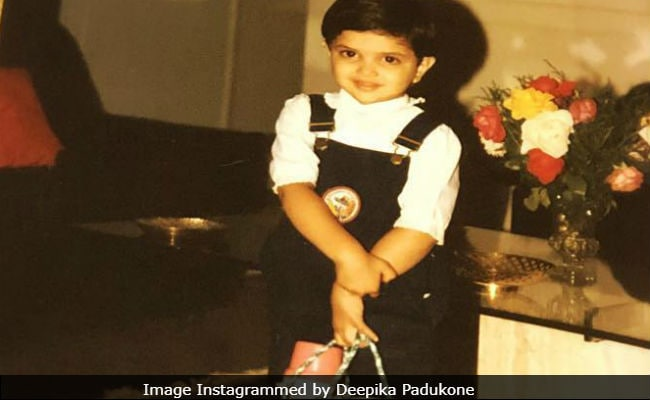 Deepika Padukone Takes Us 'Back To School' With This Throwback Picture