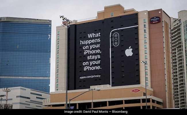 With Billboard About Privacy, Apple's 'Not-So-Subtle Shot' At Google