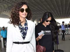 Sonam Kapoor Teaches Us How To Mix Prints And Solids In A Chic Way. Get Her Look