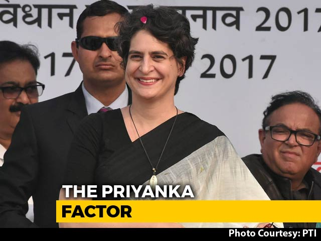 Video : A Look At Priyanka Gandhi Vadra As A Campaign Manager