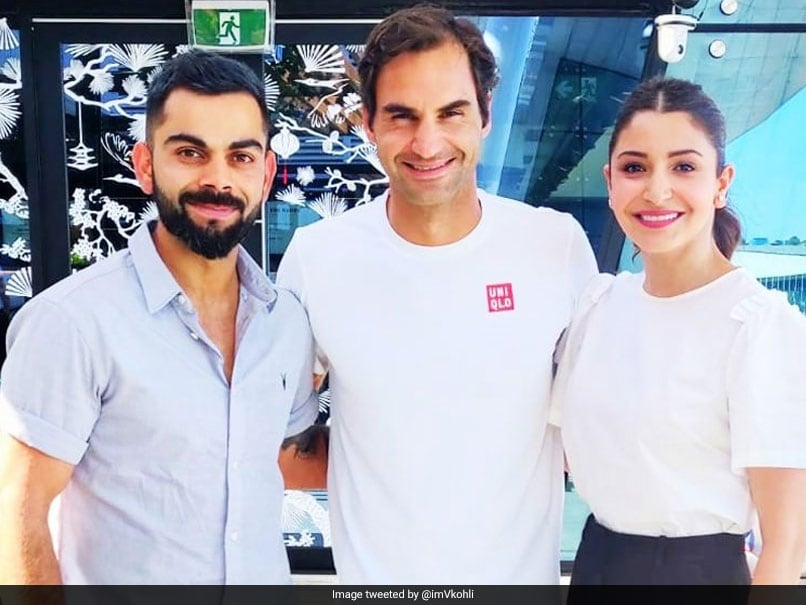 "Australian Open 2019: Virat Kohli Meets Roger Federer, Ends Australia Tour In An ""Amazing"" Way"
