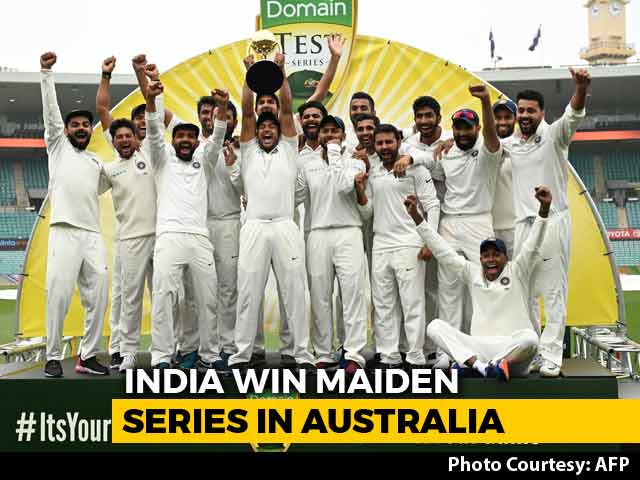 Video : India End 71-Year-Wait, Win Maiden Test Series In Australia