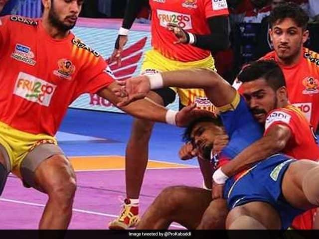 Pro Kabaddi League: Gujarat Fortunegiants Thwart UP Yoddhas Late Fightback To Enter Final