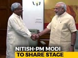 Video : In A First, Nitish Kumar To Share Stage With PM For Bihar Campaign Launch