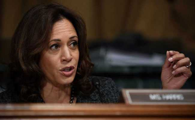 Indian-Origin Senator Kamala Harris Says She Will Run For US President