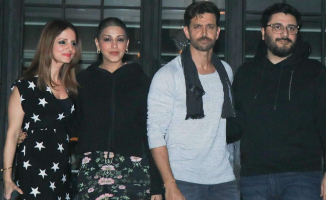 Inside Hrithik Roshan's Birthday Party With Sussanne, Sonali Bendre