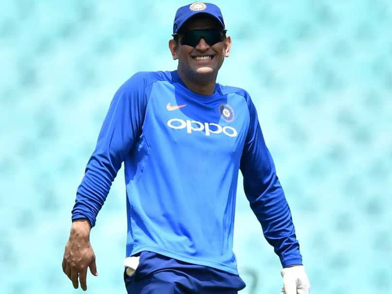 Watch: MS Dhoni Takes Dig At Retirement Rumours With Cheeky Gesture
