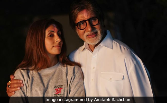 Amitabh Bachchan And Shweta Nanda's 'Bol-Bachchan' On Monday Morning Be Like
