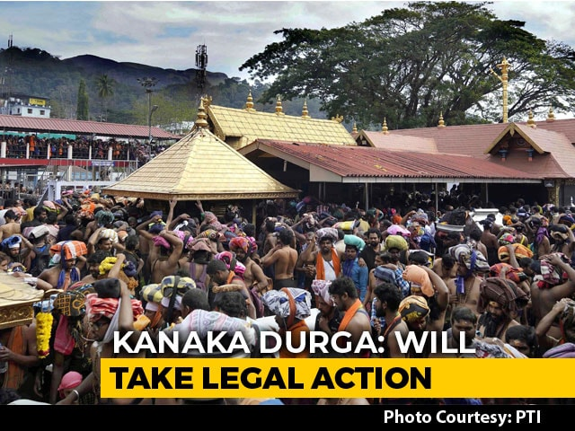 Video : Woman Who Entered Sabarimala Shrine Thrown Out By In-Laws