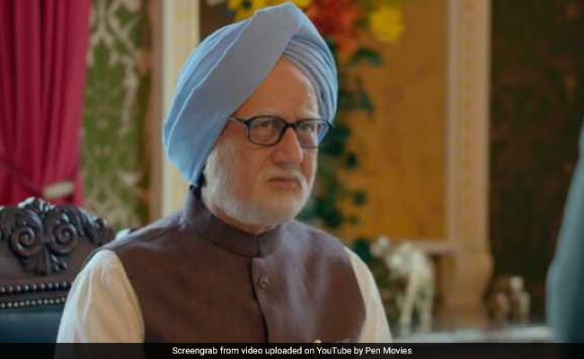 Anupam Kher in legal trouble for Manmohan Singh biopic
