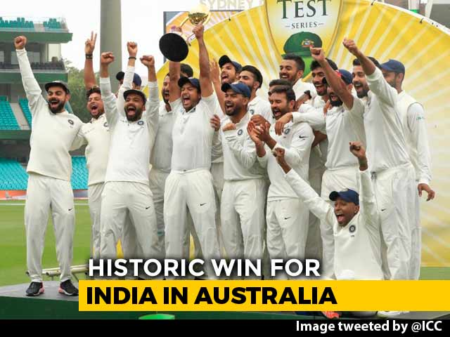 Video : Cricketers, Bollywood Stars Laud India's Historic Win In Australia
